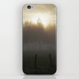 Misty Morning iPhone Skin