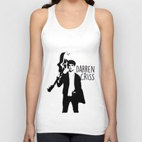 darren criss Tank Tops featuring Darren Criss with guitar! by byebyesally