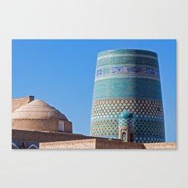Ichan Qala - Khiva, Uzbekistan Canvas Print