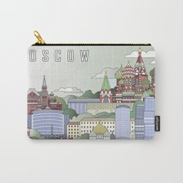 Moscow City Poster Carry-All Pouch