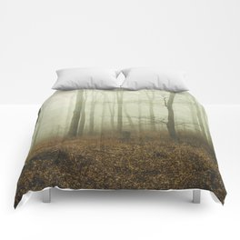 the forest i call home Comforters