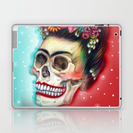 Frida's Skull ~Variation Laptop & iPad Skin