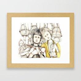 The doll makers Framed Art Print