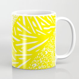 Free Hand Zesty Lemon Doodle Design Coffee Mug