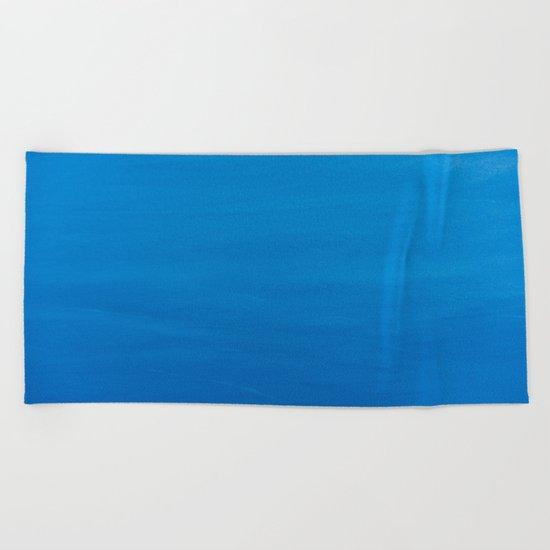 Crater Lake Blue Beach Towel