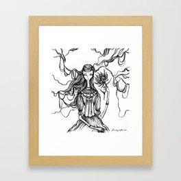 Towards the Light of Love Framed Art Print