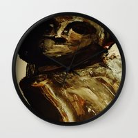 vogue Wall Clocks featuring Vogue by Michelle Silsbee
