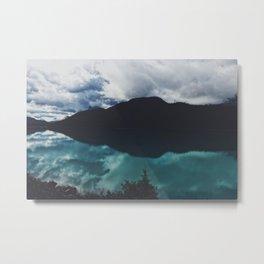 Hector Lake, Banff, Canada Metal Print