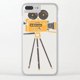 Cine Camera Clear iPhone Case