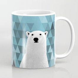 Polar Bear (in a hole in the ice) Coffee Mug