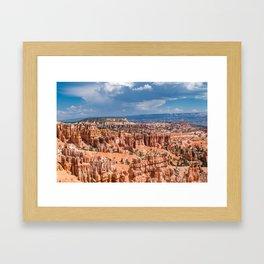 Bryce Canyon Hoodoos Framed Art Print