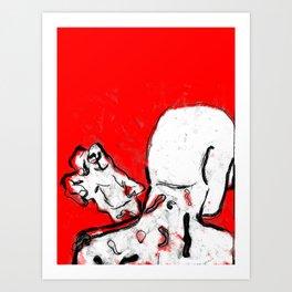 ßite the Hand that ßleeds You Art Print