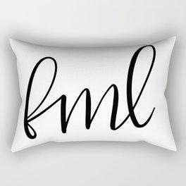 Fml Rectangular Pillow