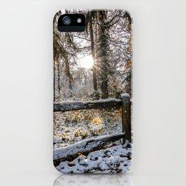 Apley Woods iPhone Case