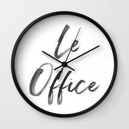 Le Office Wall Clock