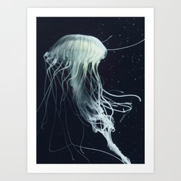 jelly fish dance Art Print