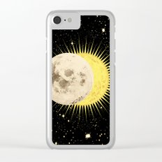 Imminent Eclipse Clear iPhone Case