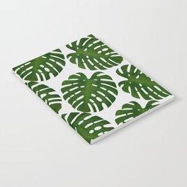 Monstera Leaf II Notebook