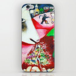 Marc Chagall Me and the Village iPhone Skin