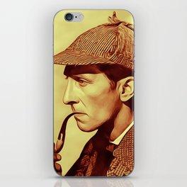 Peter Cushing as Sherlock Holmes iPhone Skin