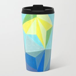 Polygonal art 1 Close up Travel Mug