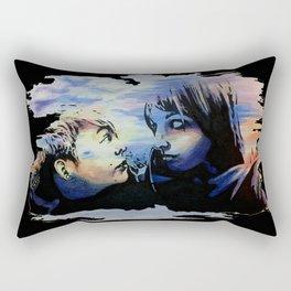 Partners in Crime Black Border Rectangular Pillow