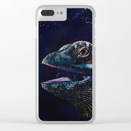 Bearded Dragon Clear iPhone Case