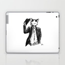 Dapper Fox Laptop & iPad Skin
