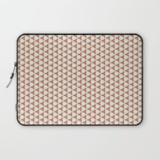 Three red pattern Laptop Sleeve