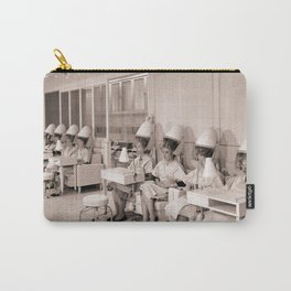 Vintage Hair Salon Carry-All Pouch
