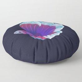 Blue Betta Floor Pillow