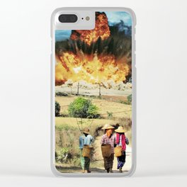 Reap what you sow Clear iPhone Case