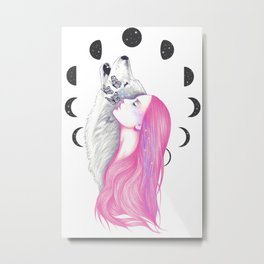 Moon Daze Metal Print