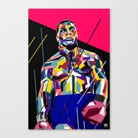 mike tyson Canvas Prints featuring Mike Tyson by Kool C