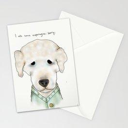 buddy the dog Stationery Cards