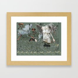 Dionysus and Apollo Framed Art Print