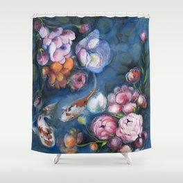 Koi love 2 Shower Curtain