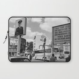 Checkpoint Charlie Berlin Laptop Sleeve