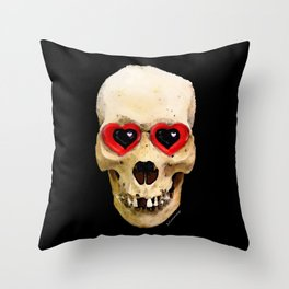 Day Of The Dead 3 by Sharon Cummings Throw Pillow