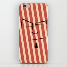 Sketch Face iPhone & iPod Skin