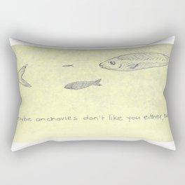 Reciprocal Anchovy Rectangular Pillow