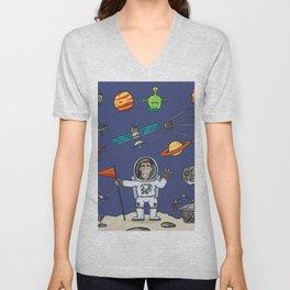 Space Elements Set Unisex V-Neck