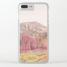whispers of autumn Clear iPhone Case