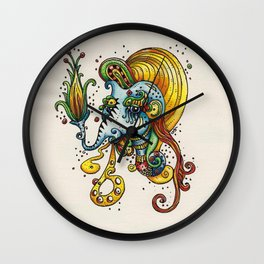 Im Stuck In This Art Wall Clock