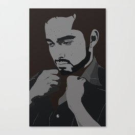 AI JJ VECTOR Canvas Print