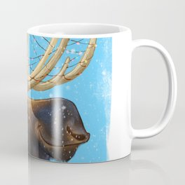 Christmas Moose Coffee Mug