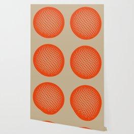 Fibo Orb (red) Wallpaper