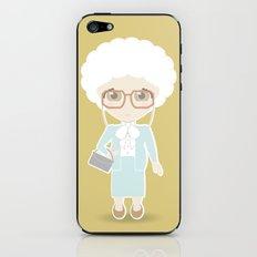 Girls in their Golden Years - Sophia iPhone & iPod Skin