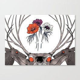 White as Milk, Red as Blood: Brothers Canvas Print