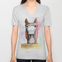 Happy Horse Unisex V-Neck